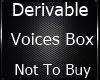empty voice box..