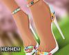 NP. Spring Floral Heels