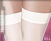 x stockings . white RLL
