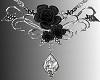 SL Black Roses Necklace