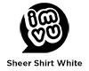 IMVU Sheer Shirt White