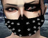 Black Goth Mask
