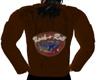 Brown R N R Jacket