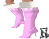 Boots Winter Snow Pink