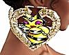 Queen B Bamboo Earrings