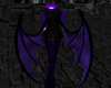 Purple Demon Wings