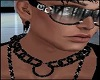 Black Chain Collar