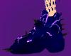 Thunder purple animated