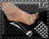 (LG)Silver Adorable Heel