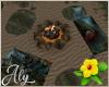 Lovers Resort Campfire