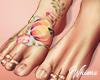 Harper Bare Feet Tattoo