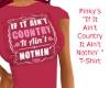 PinkysIf It Ain'tCntryT