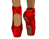 Ballet Shoes Red
