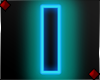 Neon Letter I