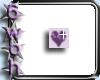 [6] Purple heart bling