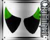 Green Tipped Mini Horns