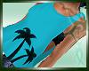 :)Aloha Stem Tank Top