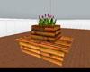 Bamboo Bench Planter