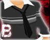[B] Sleek Black Necktie