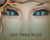 (II) Cat Eyes Blue