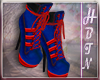 {HP} Harley Blue Boots