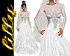 Wedding dress silver 2