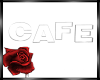 derive cafe wall sign