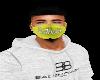 DaHuslah Facemask Yellow