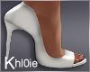 K white heels