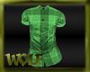{LW}L-Green Tartan Shirt