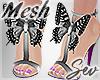*S Butterfly Heels V2