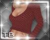 [TB] Liza Sweater Coral