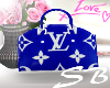 BLUE LV BAG e