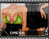 [c] IddyBow Dress Green
