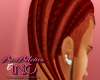 (JAz)thick cornrolls red