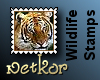 Wildlife Stamps: Tiger 2