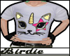 BW| Kitty-Corn Tee