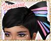 [Y] Rainbow Hair Bow