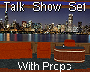 Talk Show Set With Props