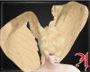 Blond Angel Head wings