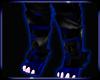 Blue Symbiote Leg Armor