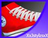 [XJX] Red Converse