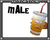 Smoothie and Burger Male