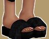, Black Fur Slides