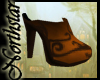 ~NS~ Elven leather Clogs