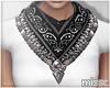 $ Bandana scarf BLACK