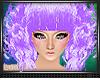 L2N3 Kawaii Purple Curly