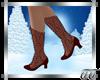 Noelle Boots in Garnet