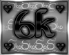 6k SUPPORT STICKER