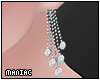 *P Sparkly Dangly Earrin